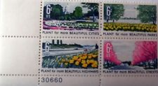 1 #1365-68 .06 BEAUTIFICATION PB OF 4. BIN $1.10.