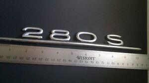 Original 1968-1969-1970-1971 Mercedes Benz 280S Trunk Lid Emblem ...