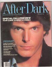 AFTER DARK entertainment magazine/CHRISTOPHER REEVE/David Bowie 10-80