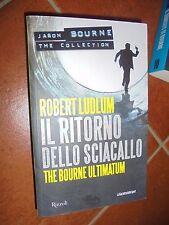 IL RITORNO DELLO SCIACALLO THE BOURNE ULTIMATUM ROBERT LUDLUM  LUSTBADER N°4