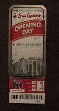 St. Louis Cardinals Busch Stadium Opening Day 2006 Inaugural Season Full Ticket