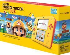 Nintendo 2DS Super Mario Makes Bundle Edition Pre-Installed *Preorder*Yellow/red