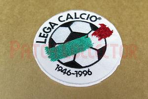 Italy League Serie A 1996-1997 Sleeve Embroidery Soccer Patch / Badge