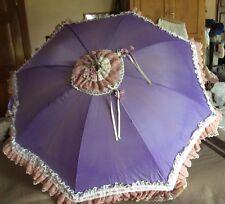 Victorian style Lavender parosol/umbrella