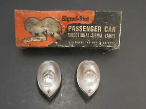 1930 's – 1940 's Accessory Signal Stat Signal Lights New Old Stock