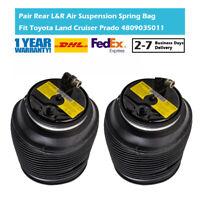 2Pcs Rear Air Suspension Spring Bag Fit Toyota Land Cruiser Prado 4Runner 02-09