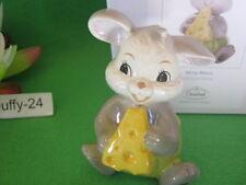 4 Figuren Mina Maus u Kitty Katze u Kala Kuh u Sigi Schwein 10 cm von Goebel