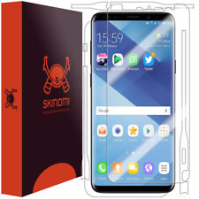 Skinomi TechSkin - Clear Full Body Skin & Screen Protector for Galaxy S9 Plus