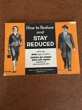 Vintage 1955 KNOX Gelatine Diet Book
