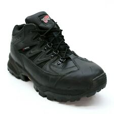 RED WING Men's 10 E2 Black Leather Waterproof Ankle Hiker Trail Work Boot 8691