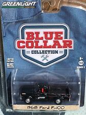 Greenlight Blue Collar  1968 Ford F-100 Pickup Topelo Grease