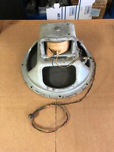 """1951 Magnavox P232 15"""" Field Coil speaker Hifi Full Range Tested & working"""