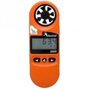 Kestrel 3500 Fire Weather Meter (Supplied with Australian Tax Invoice)