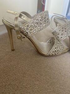 Karen Millen Gold Sandals