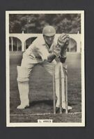 MILLHOFF - FAMOUS TEST CRICKETERS (LARGE) - #19 L AMES