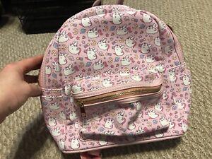 Pusheen Mini Backpack Bag Purse Pink  Super Pusheenicorn  Never Used! Rn 77272