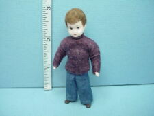"Miniature Young Man /""The Chef Wenzel/"" #10835 Dollhouse Doll,Handcrafted  1//12"
