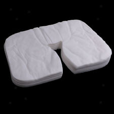 200pcs Disposable Salon SPA Massage Bed Pillow Cover Face Mat Pads Sheets