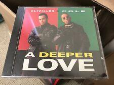 CLIVILLES & COLE CC MUSIC FACTORY A DEEPER LOVE CD SINGLE COL CSK 4345 DJ PROMO