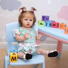 Reborn Baby Dolls Full Silicone Lifelike Bebe Reborn Girl Realistic Toy For Girl