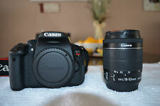 MINT Canon EOS Rebel T5i 18MP SLR Digital Camera + EF-S 18-55mm  (2 LENSES)