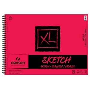 Canson XL Sketch Pad (50 Sheets - Spiral Bound) 18x24""""