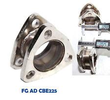 "Catback Exhaust Muffler 2.0"" Extension Flange Steel Adapter 2.25"" 3Bolt Flange"