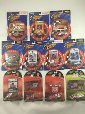 WINNER'S CIRCLE MULTIPLE DRIVERS LOT OF 11 NASCAR TOY CARS L5