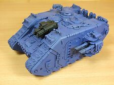 PLASTIC SPACE MARINE LAND RAIDER BASE PAINTED (L)