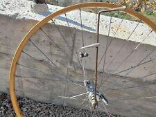 Nos Campagnolo Cambio Corsa Ghisallo Rim Wooden Rear Wheel L'Eroica