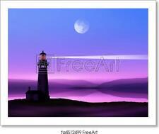 Lighthouse Art Print / Canvas Print. Poster, Wall Art, Home Decor - D