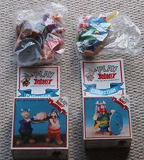 Vintage Astérix Action Figures 38166 38170 Comme neuf scellé dans des sacs Boxed