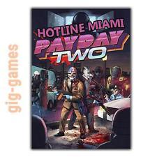 PAYDAY 2: Hotline Miami DLC Add-On PC spiel Steam Download Link DE/EU/USA Key