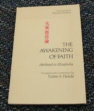 THE AWAKENING OF FAITH Yoshito S Hakeda / ASVAGHOSHA Mahayana Buddhism 1967 RARE