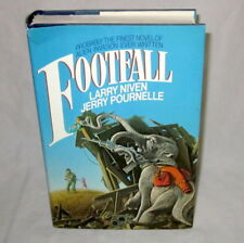 Book FOOTFALL Larry Niven Jerry Pornelle 1985 1st Ed Book Club hardcover Sci Fi