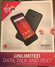 Virgin Mobile Alcatel Dawn 4G LTE Prepaid Smartphone NEW IN BOX