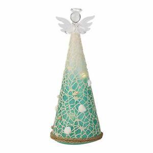 Enesco Coast to Coast Angel Tree Light Up Decorative Figurine 10.25 Inch