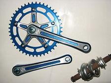 TAKAGI NOS Blue CRANK SET Vintage old School BMX kuwahara sugino