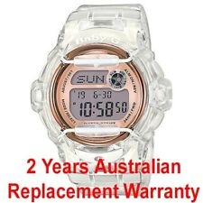 CASIO BABY-G LADIES DIGITAL WATCH BG-169G-7B ROSE GOLD BG-169G-7BDR 2Y WARRANTY