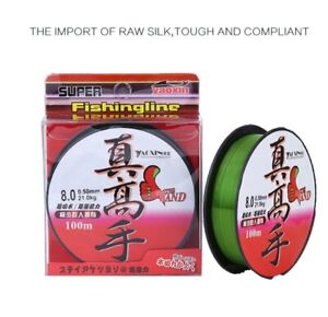 High Quality 100m /109 Yard Fluorocarbon Ocean Lake Carp Fishing Line Leader .