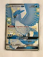 Articuno GX SV54/SV94 SHINY FULL ART ULTRA RARE Pokemon SM Hidden Fates