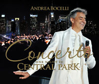 Andrea Bocelli - Concerto One Night in Central Park [New CD]