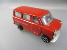 Ford Transit Feuerwehr-Modell, made in China, metall (GK96)