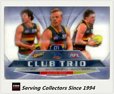2012 Select AFL Champions Club Trio MIRROR CARD FULL SET (17)-RARE