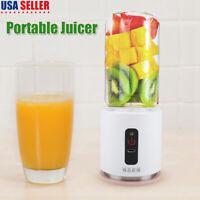 260 ML Portable Juicer Blender Mixer Juice Cup Water Bottle Travel Personal USB