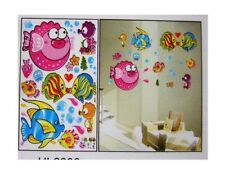 Removable Interior Bath Wall Decor Decal Craft Art Sticker Fish Water Resistant