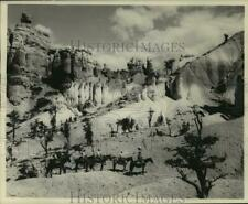 1935 Press Photo Seal Castle in Bryce Canyon National Park in Southern Utah