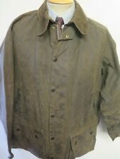 """Vintage Barbour A50 Moorland Waxed jacket - XL 46"""" Euro 56 in Brown"""