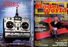 RADIO CONTROL MODEL WORLD MAGAZINE 1988 NOV KYOSHO ZERO, SPACEWALKER, YAMADA YS