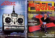 RADIO CONTROL MODEL WORLD MAGAZINE 1988 NOV KYOSHO ZERO, SPACEWALKER, YAMADA YS